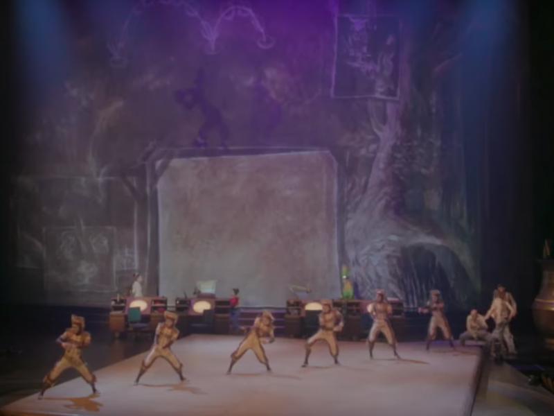 Still from video for DTL