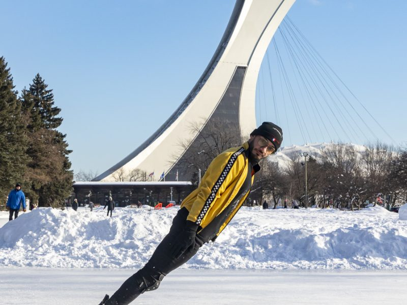 Image of Abadi Al-Obaidi skating